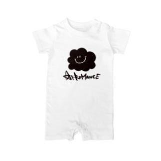 アフロマンス・ロゴ Baby rompers