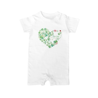 Four-leaf-clover Baby rompers