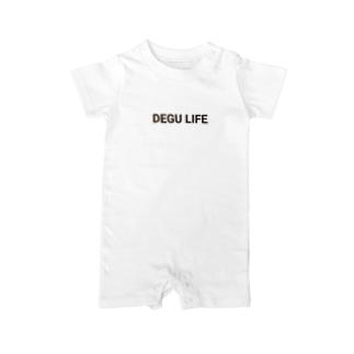 LOVE DEGU LIFE ~デグーライフ~ Baby rompers