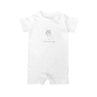 baby002(濃い色ver.) Baby rompers