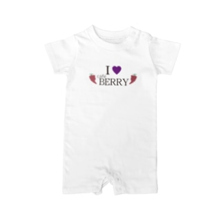 I LOVE CAFE BERRY Baby rompers