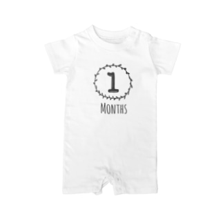 1months Baby rompers