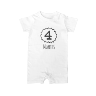 4months Baby rompers