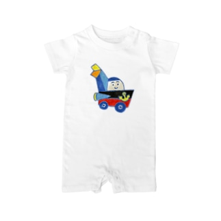 Mighty vehicle Baby rompers