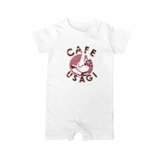 USAGI CAFE(ウサギカフェ) Baby rompers