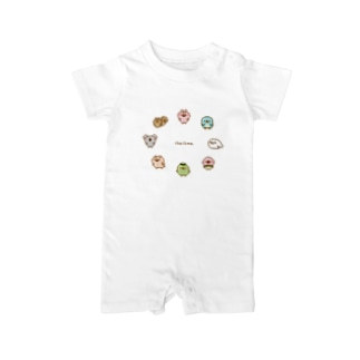 chackmoドットキャラグッズ(円) Baby rompers