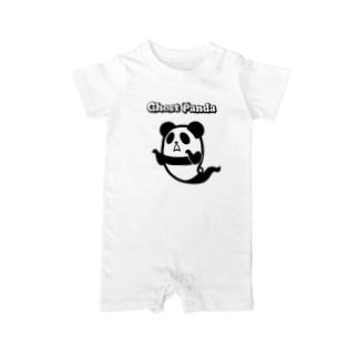 ゴーストパンダ Baby rompers