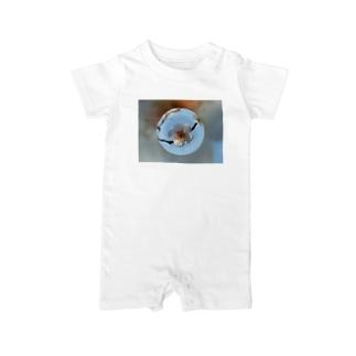 光景 sight737 梅  花 FLOWERS  宙玉(そらたま) Baby rompers