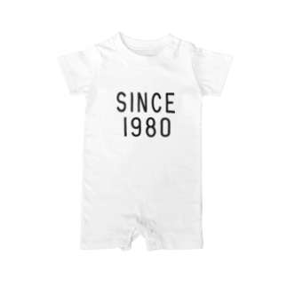 SINCE1980 Baby rompers