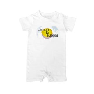 レモンisスッパイロンパース Baby rompers