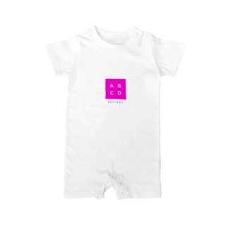 ABCD包囲網 Baby rompers