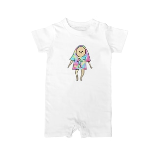 Tシャツびろーん Baby rompers