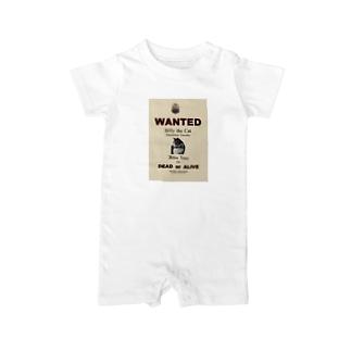 ウォンテッド:手配ポスター WANTED: Poster Baby rompers
