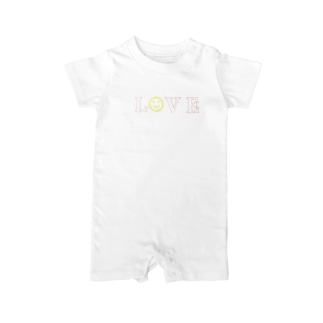 LOVE Baby rompers