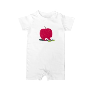 Apple Boy Baby rompers