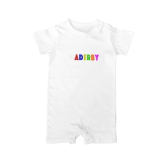 WADERBY(黒用) Baby rompers