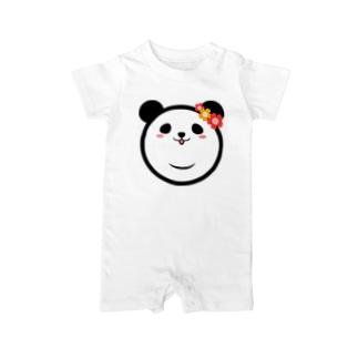 Panda Lele&Hehe Baby rompers