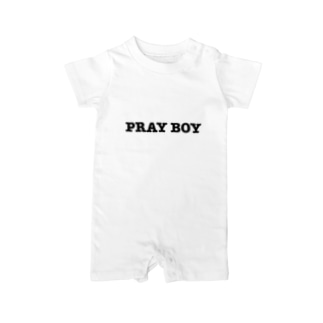 PRAY BOY Baby rompers