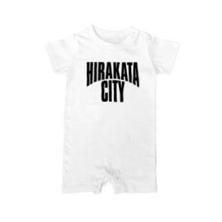 HIRAKATA CITY Baby rompers