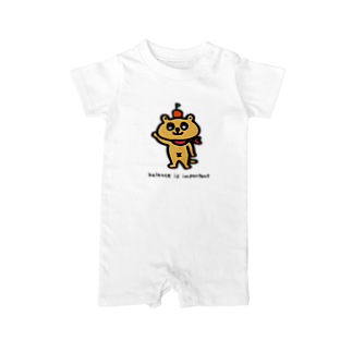 PAFFUL PAFINのパフィン Baby rompers