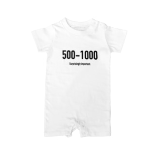 POINTS - 500-1000 Baby rompers