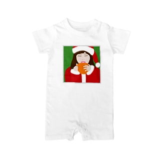 Santa Girl Baby rompers
