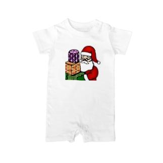 Logic RockStar ICON  Santa Baby rompers