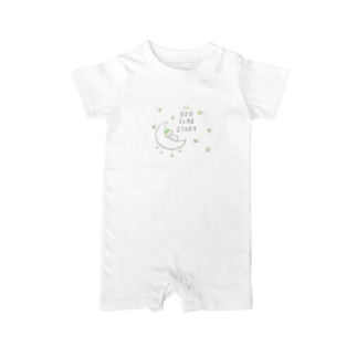 gucchan_bed time story Baby rompers