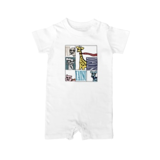 simple-animal37 Baby rompers