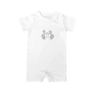 Cancer~かに座~6/22-7/22 Baby rompers