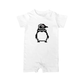 penguin dots Baby rompers