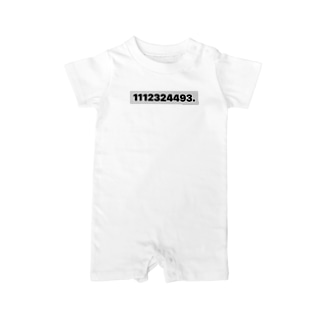 1112324493. Baby rompers