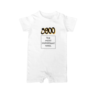 POINTS - 3900 Yellow Baby rompers