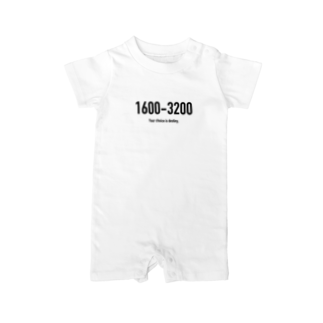 wlmのPOINTS - 1600-3200 Baby rompers