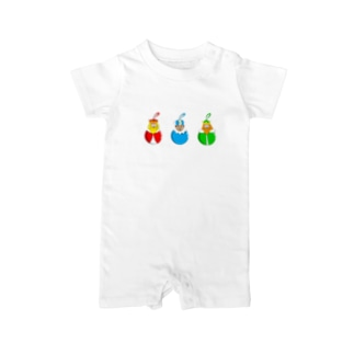 Caspar, Melchior and Balthazar.   Christmas baubles with Three Wise Men. Baby rompers