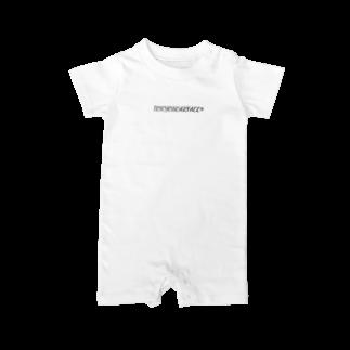 NM商会NAGオリジナルTシャツのTOKYOSCARFACE再来 Baby rompers