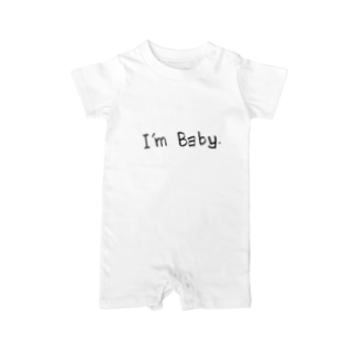 I'm Baby. Baby rompers