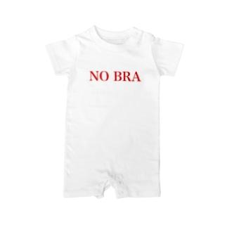 NO BRA Baby rompers