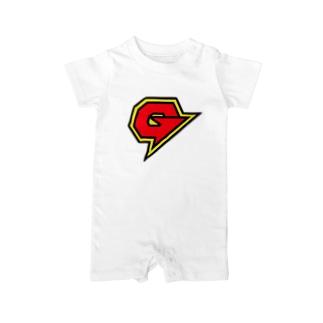 ガリガリガリクソンTシャツ Baby rompers