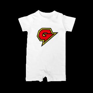 NEET of THE DEAD!!のガリガリガリクソンTシャツ Baby rompers