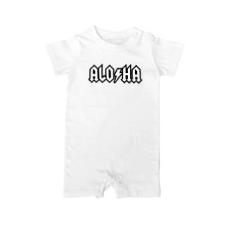 Aloha 01 W Baby rompers