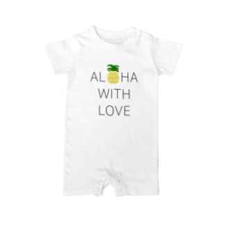 ALOHA PINEAPPLE Baby rompers