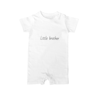 Little brother Baby rompers