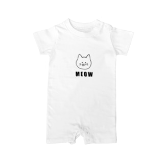 MEOW Baby rompers