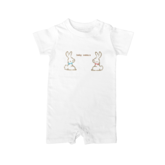 aaのbaby rabbit Baby rompers