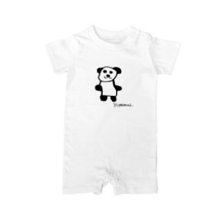 ジャイアントパンダ Baby rompers