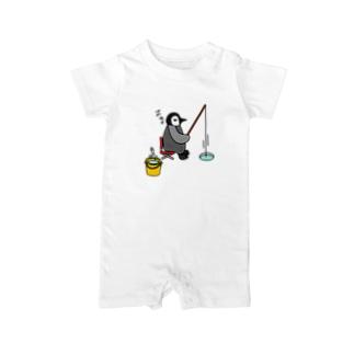 フィッシングペンギン Baby rompers
