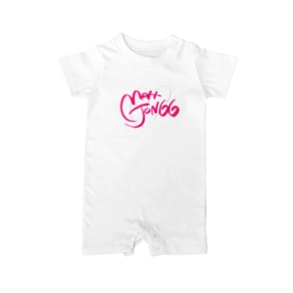 LOVE MAH-JONGG Baby rompers