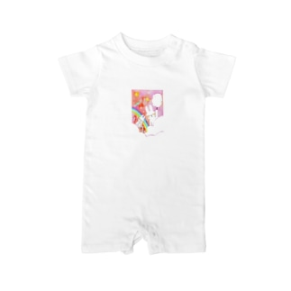 Candy  World Baby rompers