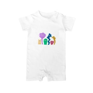 COLORFUL BUDDIES Baby rompers